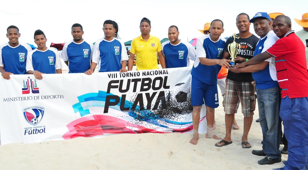 San Cristóbal, campeón Nacional de Fútbol Playa que organizó la Fedofutbol