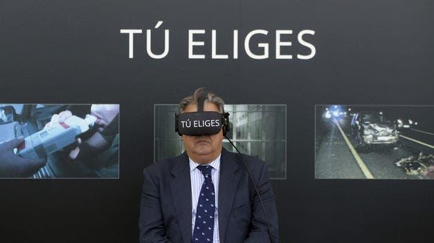 Matar o matarte en un accidente de tráfico: realidad virtual para evitarlo