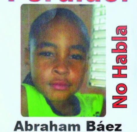 PN extiende a todo el país la búsqueda niño autista Abraham Báez