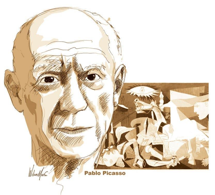 Picasso en la Costa Sur de Francia