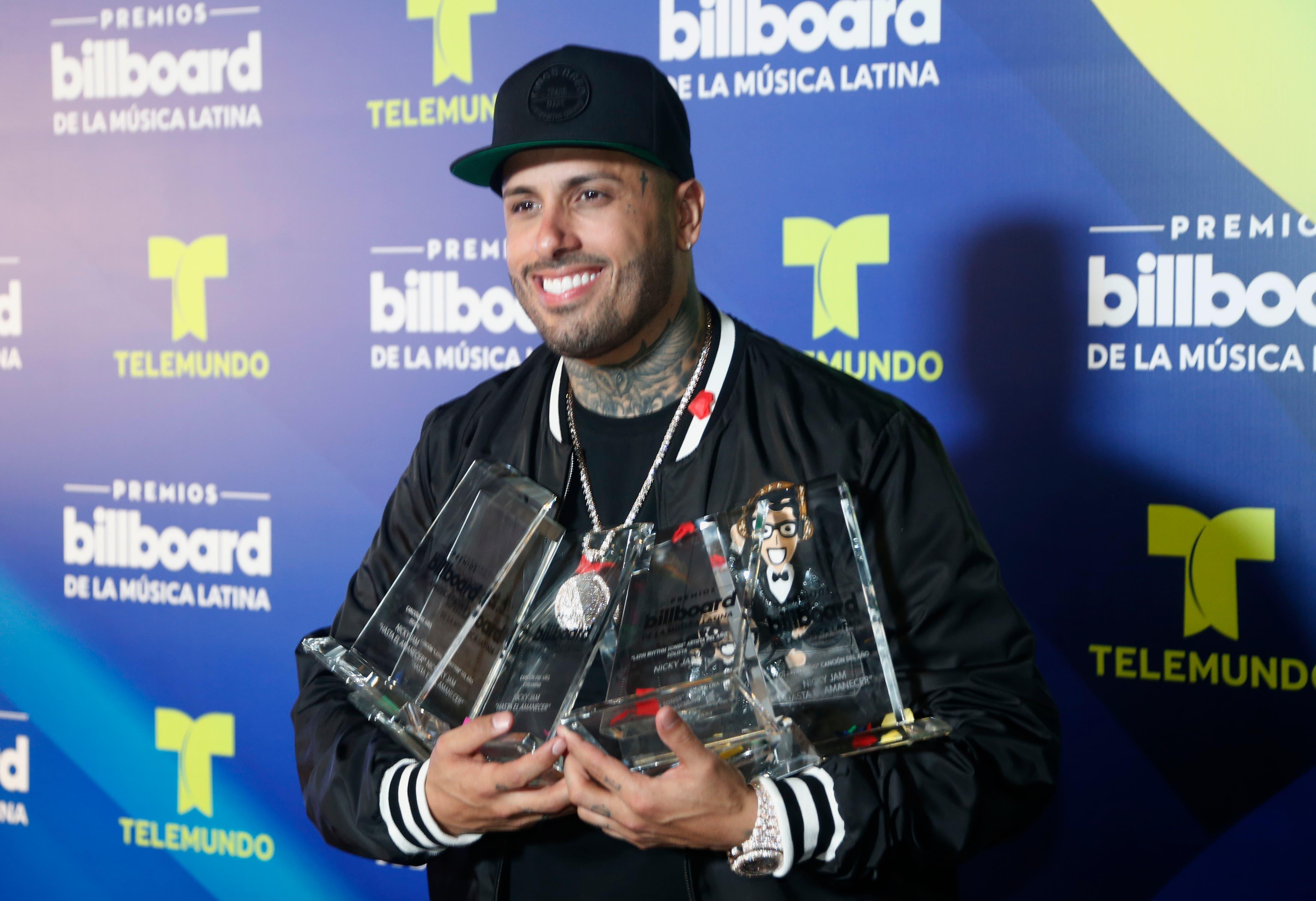 Aquí la lista completa de los ganadores de Premios Billboard de la Música Latina