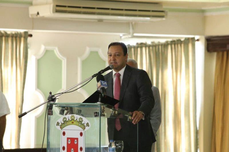El alcalde Abel Martínez.