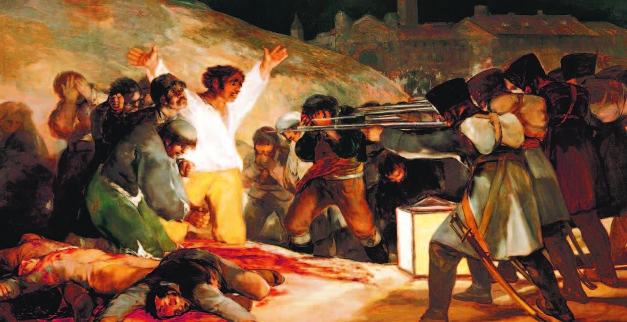 Goya. Fusilamientos del 3 de mayo