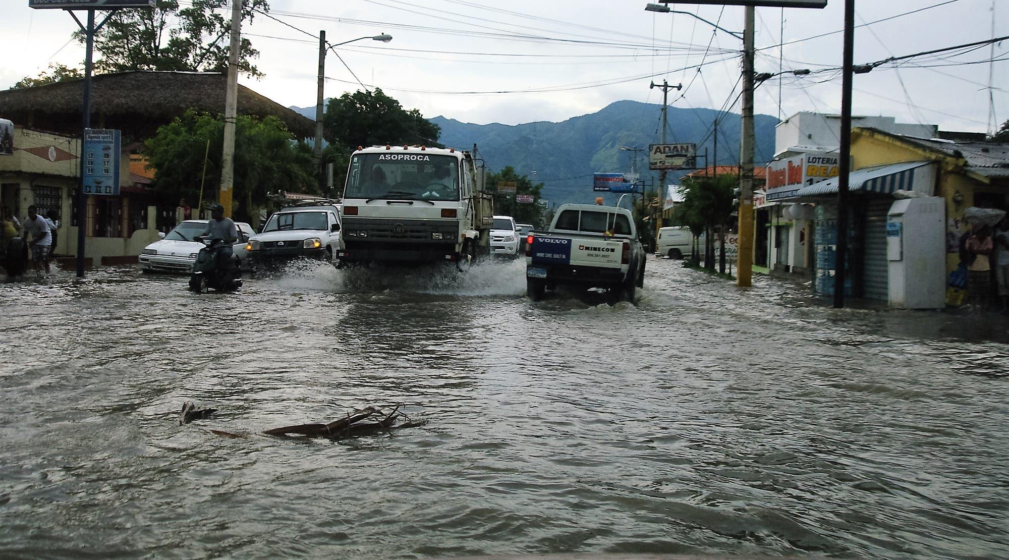 Los estragos causados por las lluvias en el territorio nacional