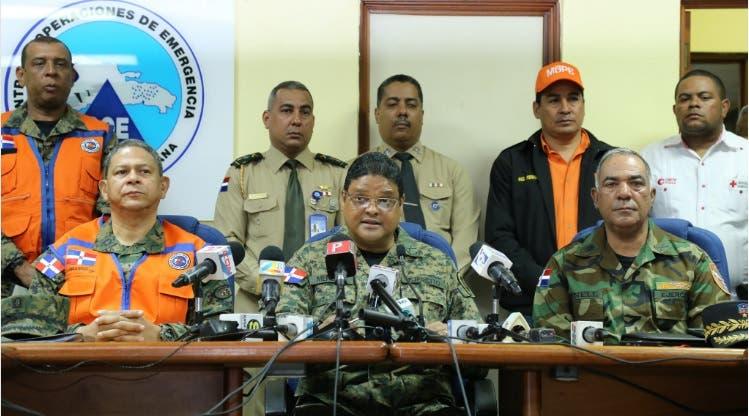 COE eleva a 18 las provincias en alerta por huracán María