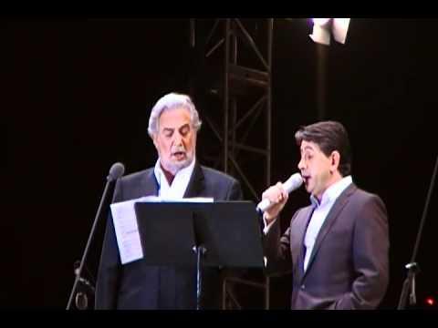 El dueto es un intercambio de tenores sobre la base de un bolero. Fuente externa.