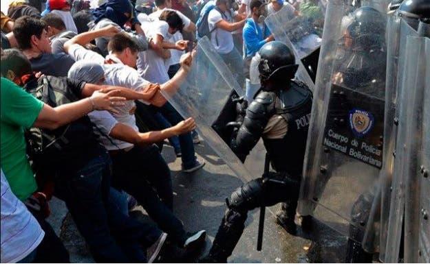Protesta en Venezuela 6