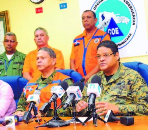 El COE coloca en alerta amarilla a 10 provincias ante posibles inundaciones