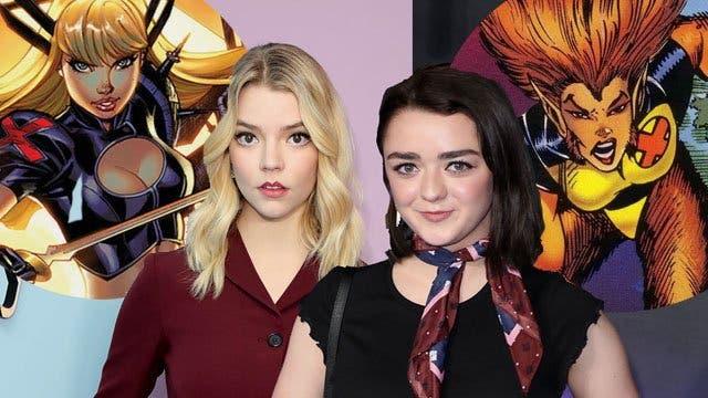 """Anya Taylor-Joy y Maisie Williams liderarán """"New Mutants"""" de la saga """"X-Men»"""