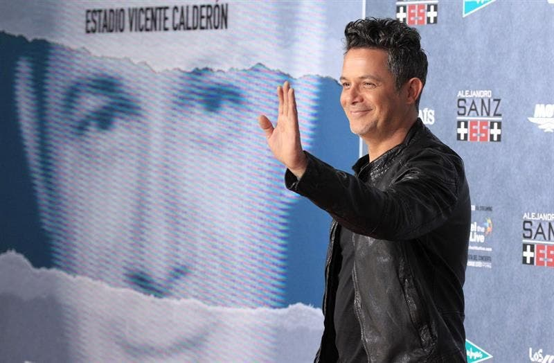 Alborán, Juanes y Shakira, probables duetos de «Más es más» de Alejandro Sanz
