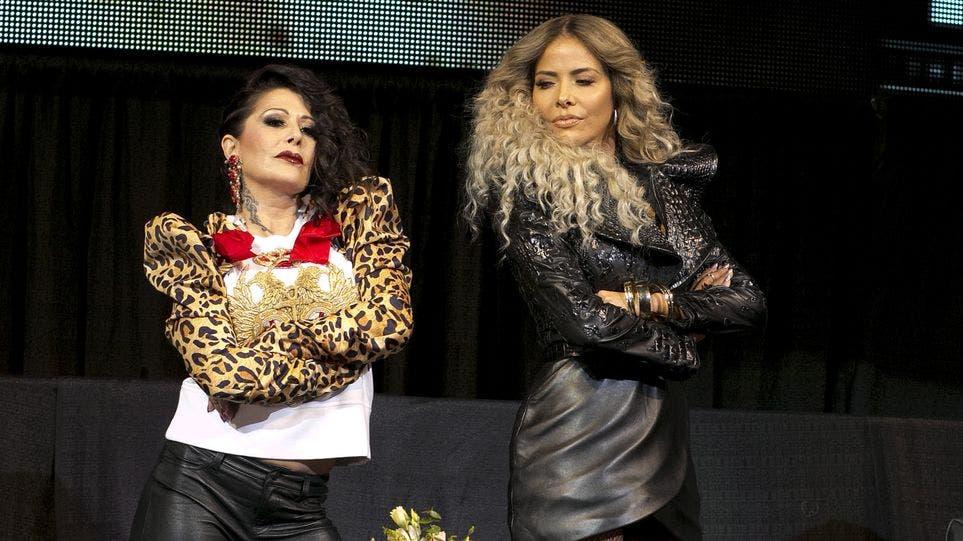 """Video: Gloria Trevi versus Alejandra Guzmán, una gira """"explosiva y apasionada"""""""
