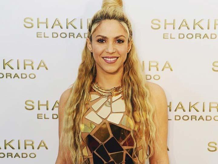 """Shakira logra que """"El dorado"""" sea número uno en 34 países en su lanzamiento"""