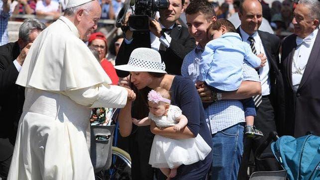 El Papa dice que no es cristiano sembrar amargura y pide derrochar esperanza