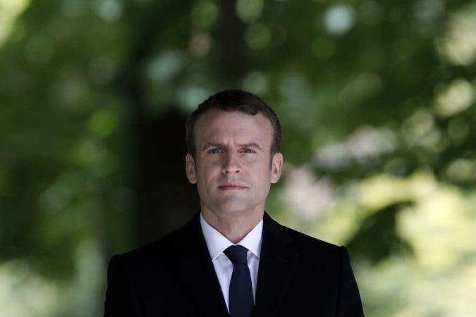 "'Devolver la confianza', la promesa de Macron"""