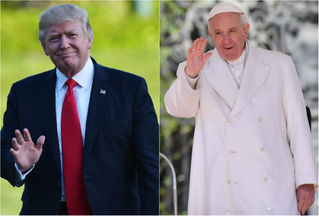Papa Francisco recibe a Donald Trump el 24 de mayo en el Vaticano