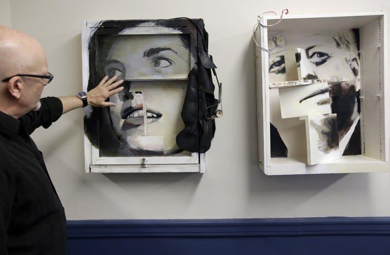 Desechos de casa remodelada de JFK son transformados en arte
