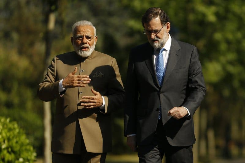 España recibe a primer ministro India por 1ra vez en 25 años