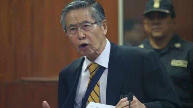 Expresidente Fujimori dice que sólo muriendo podrá salir de la cárcel