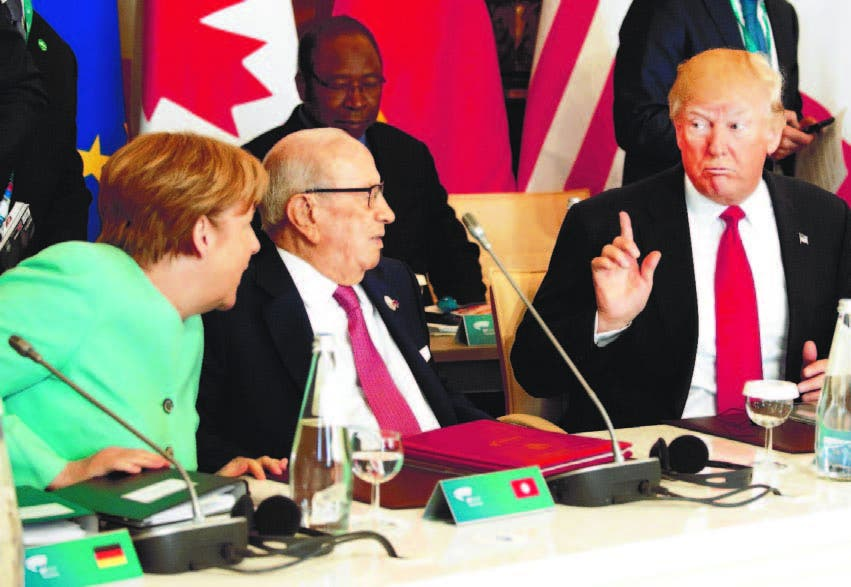 Aumenta desconfianza de líderes europeos a Trump