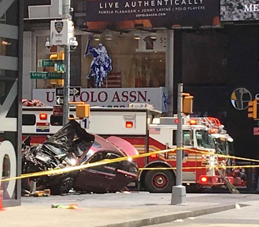 """El autor de la tragedia en Times Square """"oía voces"""""""