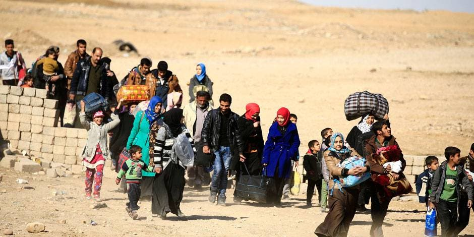 ONU prevé que 200.000 personas más huirán de Mosul, en Irak