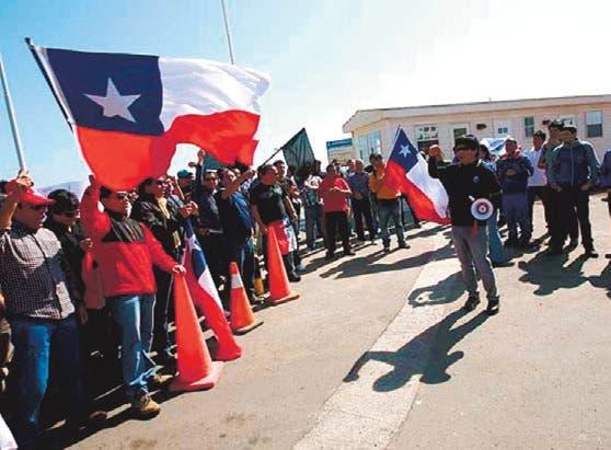 Fortaleza económica Chile se oculta tras huelga
