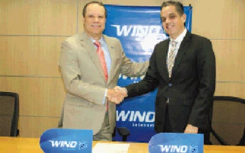 Wind Telecom y LNB  firman alianza deportiva