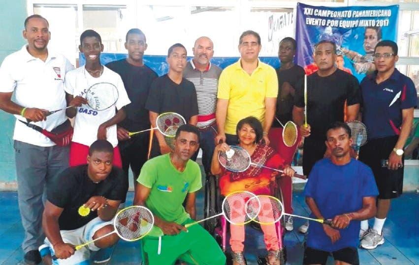 Federación Dominicana de Bádminton fortalece  la disciplina en discapacitados