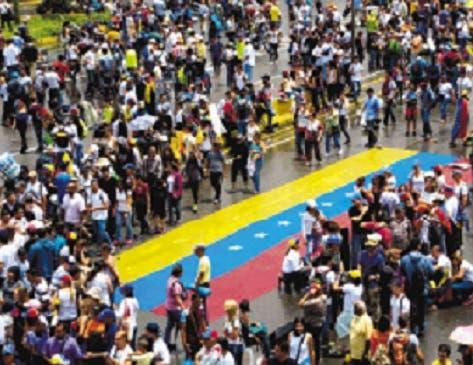 Mueren 2 más en jornada de protestas en Venezuela