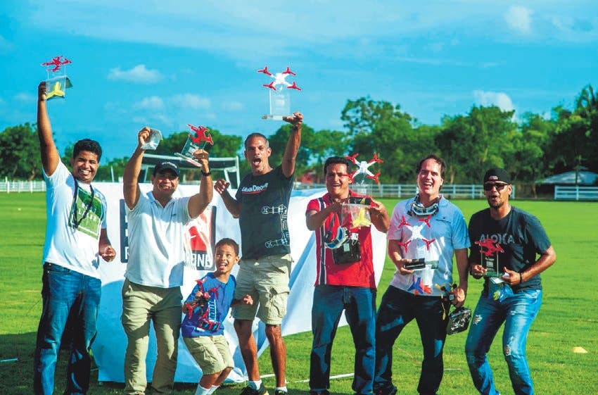 Ferrando, Flores y Belmar ganan Puntuable de Drones de Carrera