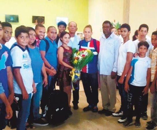 Presidente Danilo Medina felicita a Audrys Nin Reyes