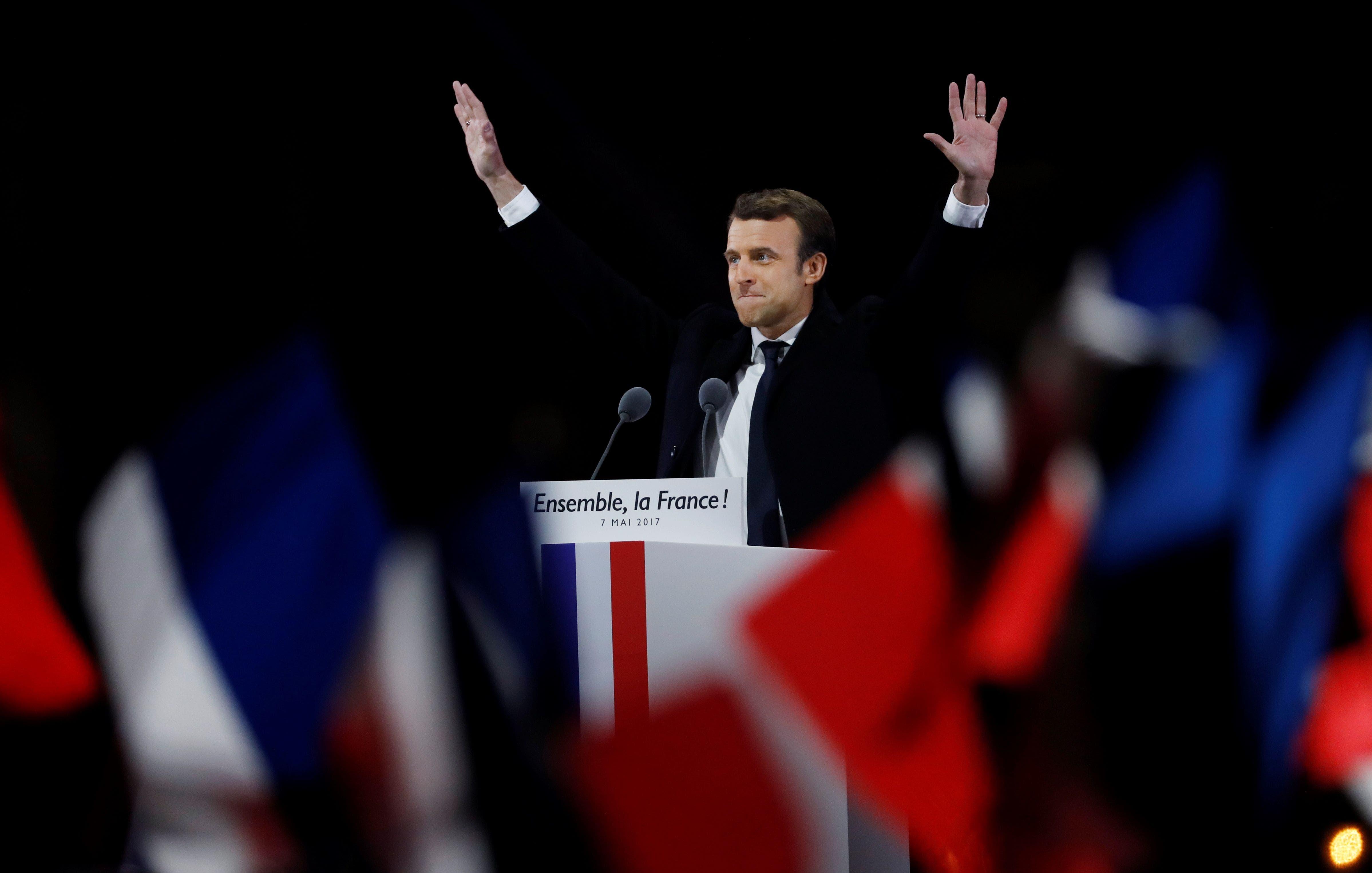 El triunfo de Emmanuel Macron, el presidente más joven de Francia
