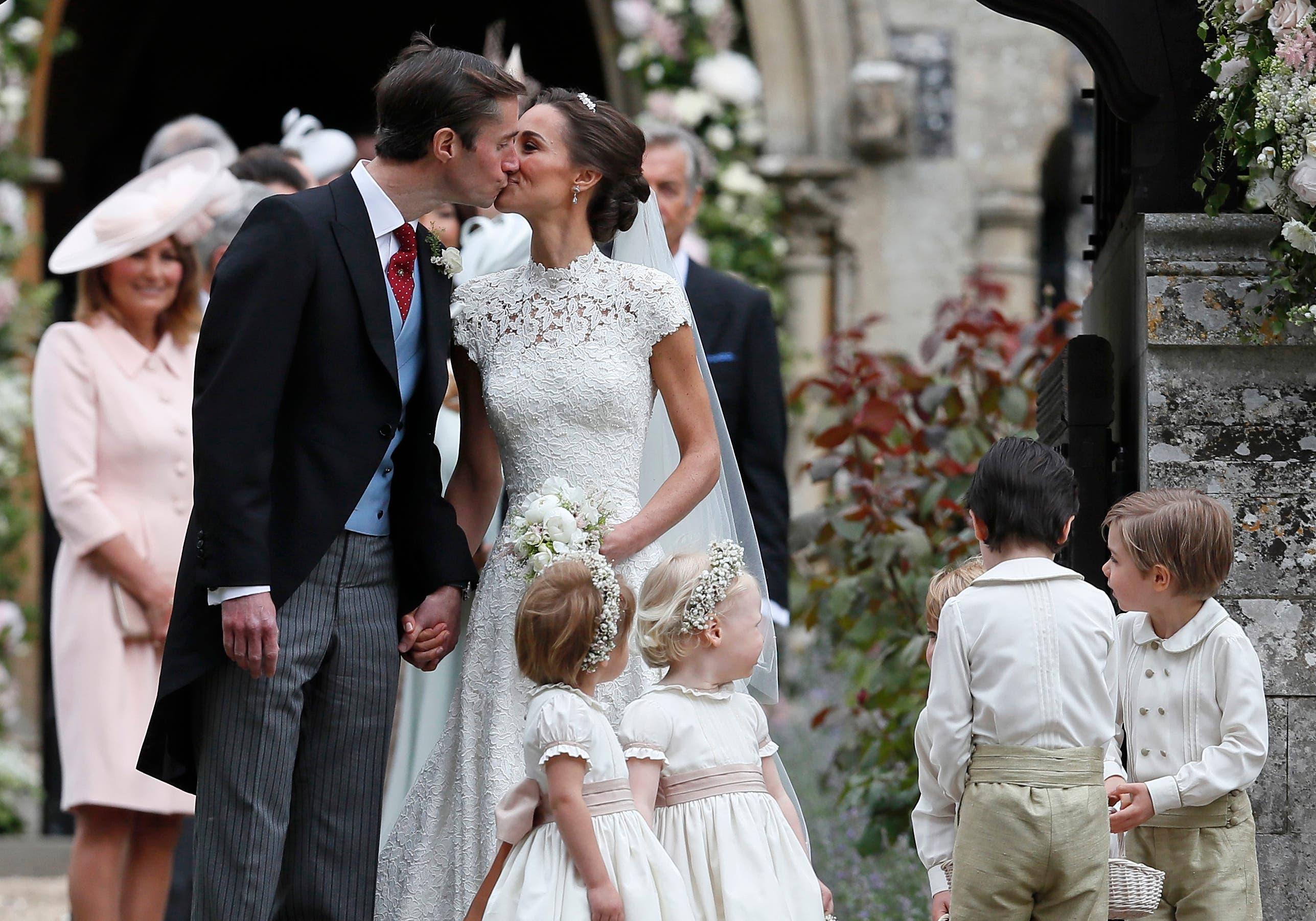 Pippa Middleton se casa con inversionista James Matthews