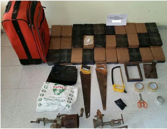 DNCD ocupa 92 paquetes de droga en Azua