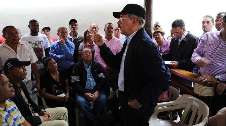 Ganaderos y caficultores de Azua piden respaldo a Danilo Medina