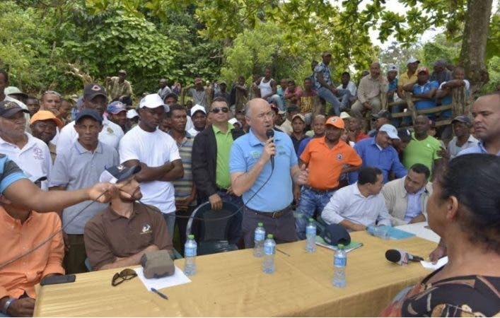 Domínguez Brito dijo que todo el proceso de recuperación se realizará con pleno respeto a la dignidad humana.