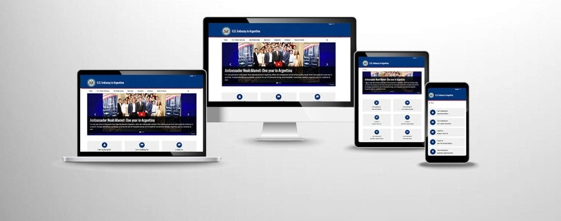 Video: Embajada de los Estados Unidos presenta nueva página web