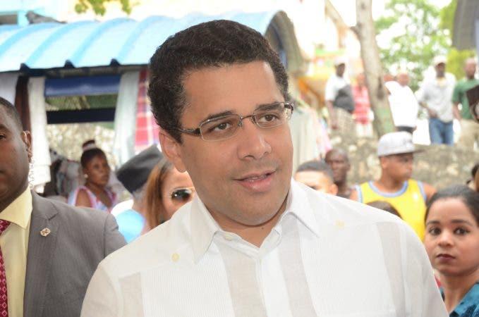 El alcalde del Distrito Nacional, David Collado.