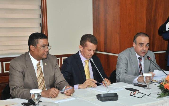 Reunion Comision Bicameral Ley de Partidos.