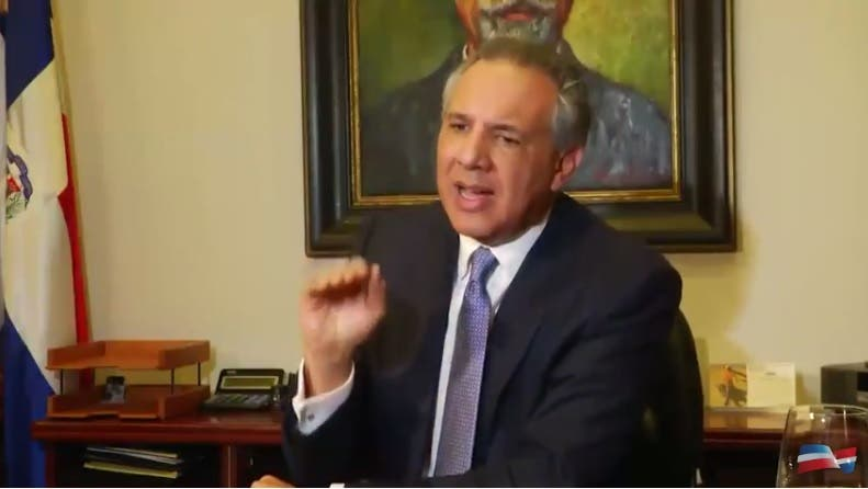 Ministro de la Presidencia, José Ramón Peralta.
