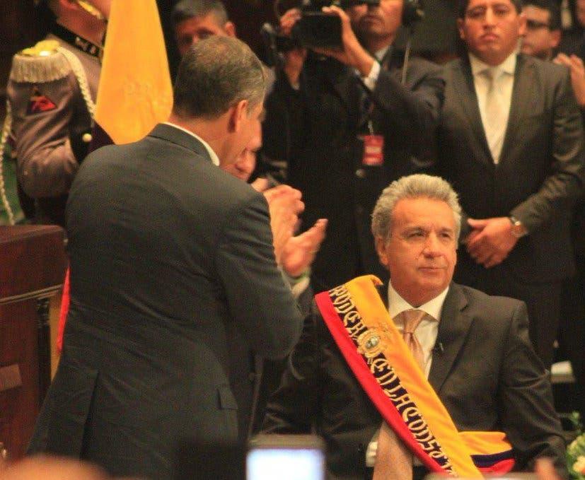 Lenín Moreno asume la presidencia de Ecuador