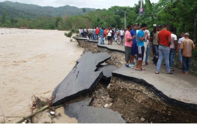 Gonzalo Castillo dice daños causados por lluvias superan los RD$6 mil millones