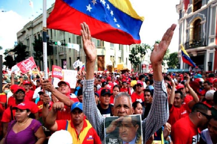 Chavismo vuelve a marchar en apoyo a la Constituyente propuesta por Maduro
