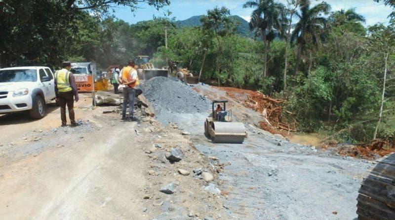 Reparación carretera