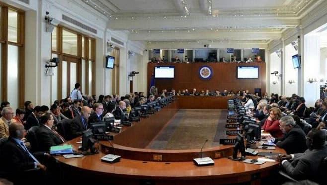 Reunión cancilleres OEA