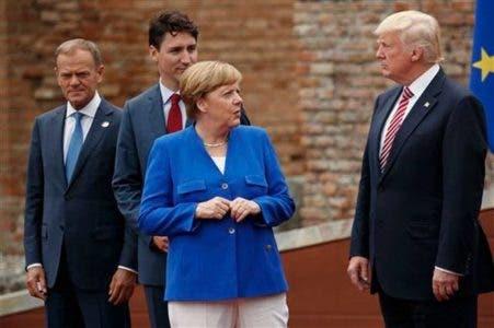 Donald Trump regresa a EE.UU; califica viaje al exterior como jonrón