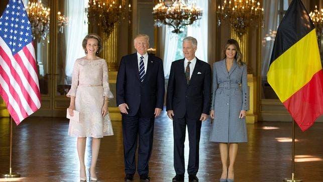Histórica visita del presidente Donald Trump al Muro de los Lamentos
