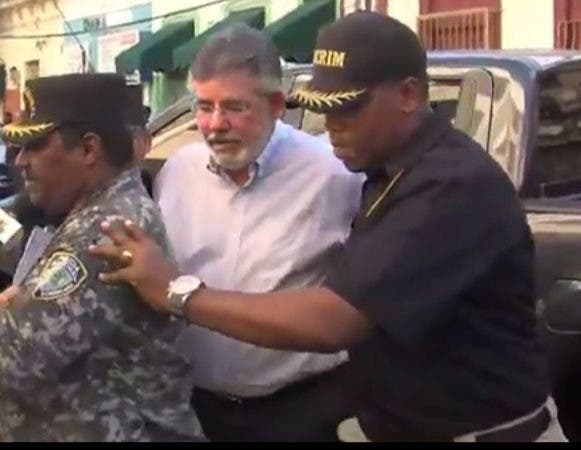 El exministro de Obras Públicas, Víctor Díaz Rúa.