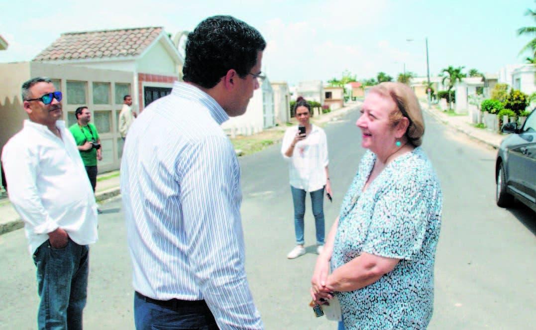 Cementerios de Santo Domingo lucen hoy más limpios, seguros y mejores condiciones calles