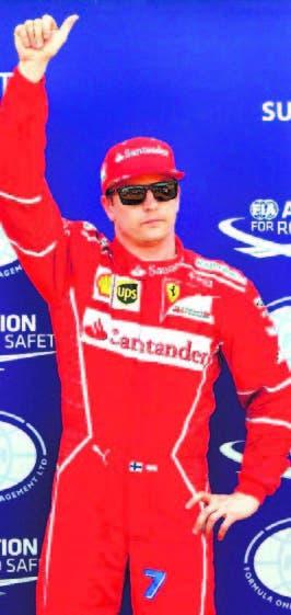 Kimi Raikkonen logra la pole en Mónaco